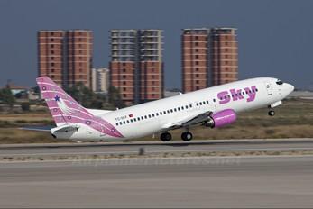 TC-SKF - Sky Airlines (Turkey) Boeing 737-400