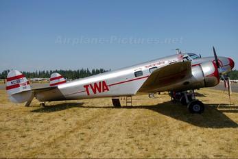 NC18137 - Private Lockheed 12 Electra Junior
