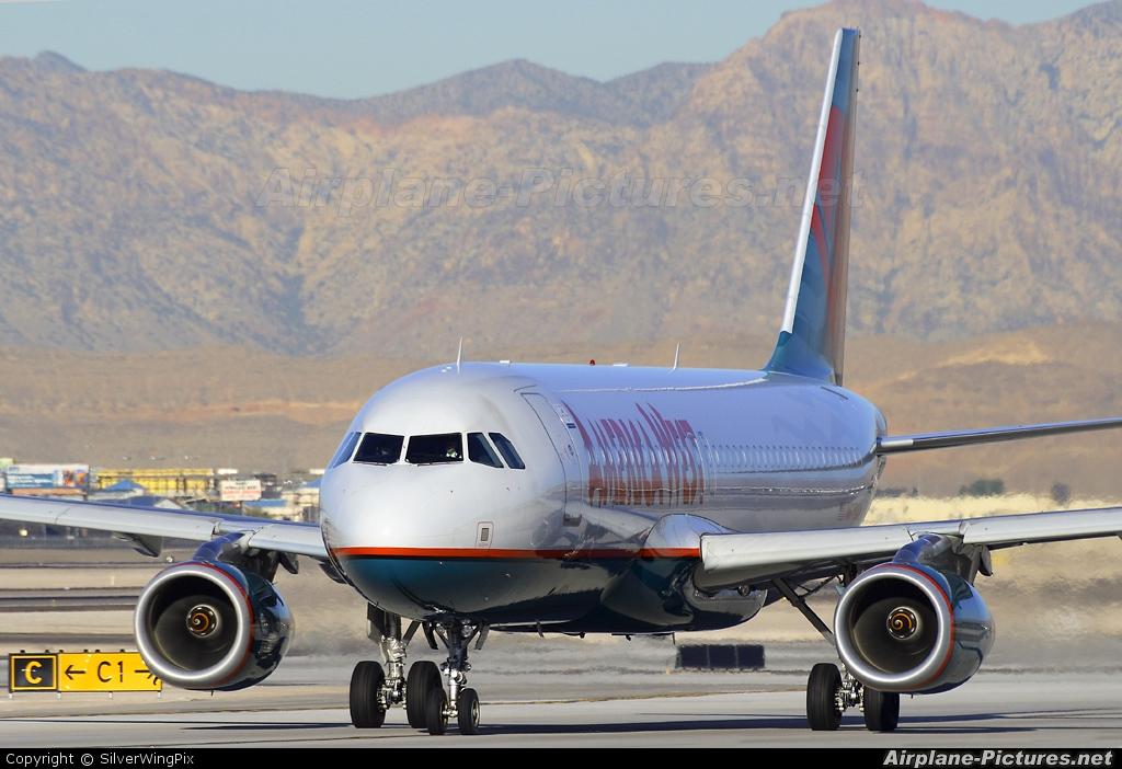 America West Airlines N678AW aircraft at Las Vegas - McCarran Intl