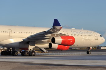 OY-KBA - SAS - Scandinavian Airlines Airbus A340-300