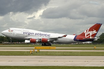 G-VTOP - Virgin Atlantic Boeing 747-400