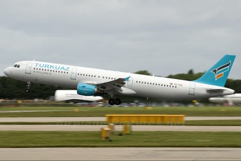TC-TCE - Turkuaz Airlines Airbus A321