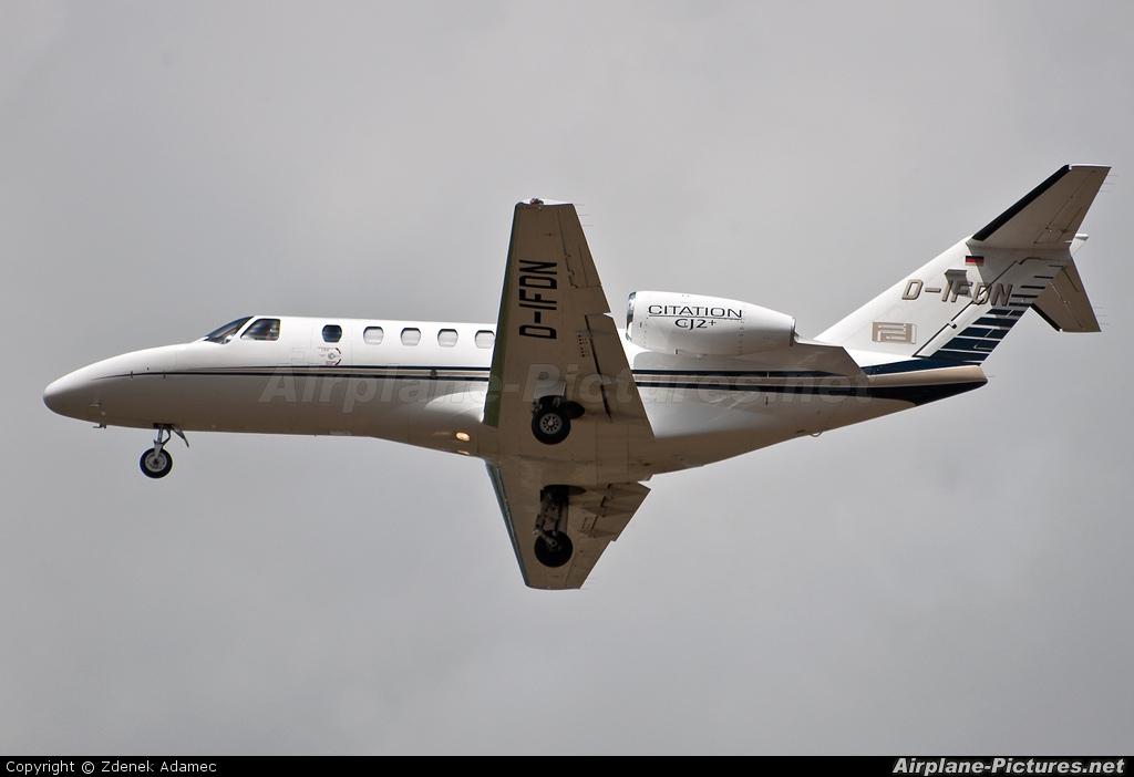 Private D-IFDN aircraft at Prague - Václav Havel