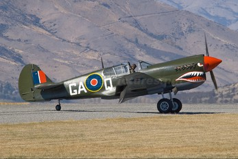 ZK-ZOC - Private Curtiss P-40E Warhawk