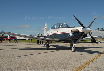 165965 - USA - Navy Hawker Beechcraft T-6A Texan II