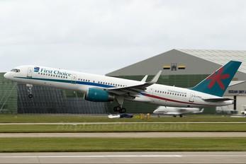 G-CPEU - First Choice Airways Boeing 757-200