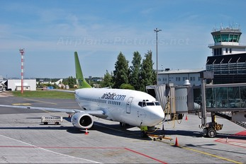 YL-BBP - Air Baltic Boeing 737-500
