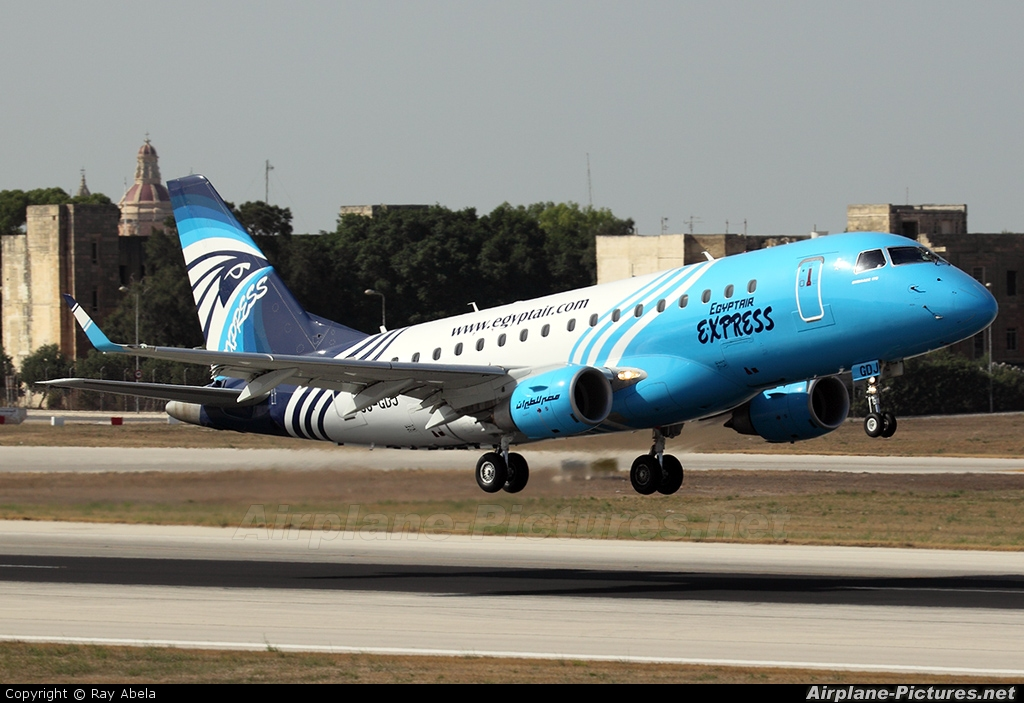 Egyptair Express SU-GDJ aircraft at Malta Intl