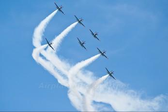 "- - Poland - Air Force ""Orlik Acrobatic Group"" PZL 130 Orlik TC-1 / 2"