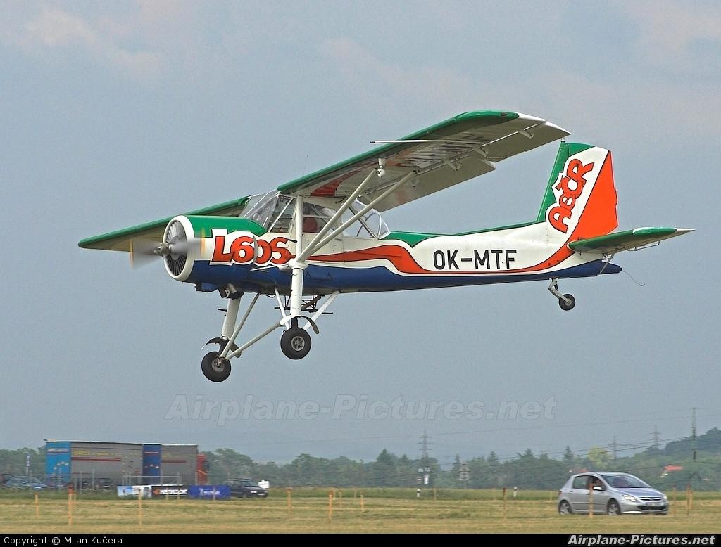 Aeroklub Czech Republic OK-MTF aircraft at Roudnice nad Labem