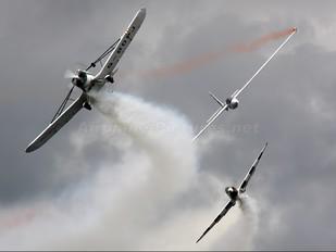 G-BDPJ - Swift Aerobatic Display Team Piper PA-25 Pawnee