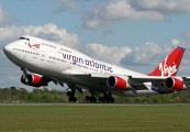 G-VAST - Virgin Atlantic Boeing 747-400 aircraft