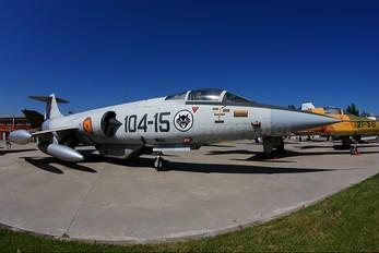 C.8-15 - Spain - Air Force Lockheed F-104G Starfighter