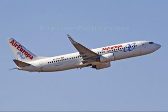 EC-HKQ - Air Europa Boeing 737-800