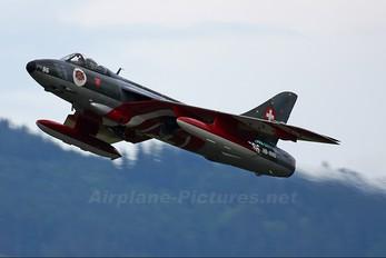 HB-RVU - Hunter Flying Club Hawker Hunter F.58