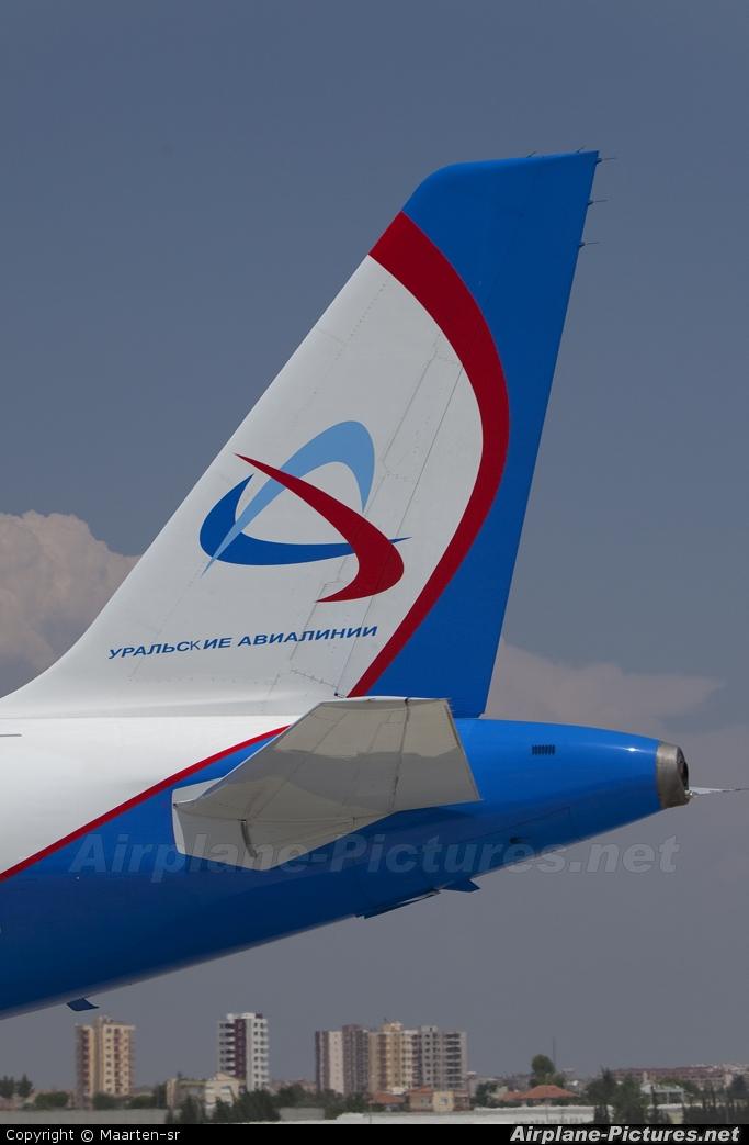 Ural Airlines VP-BPV aircraft at Antalya
