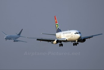 ZS-SID - South African Cargo Boeing 737-200F