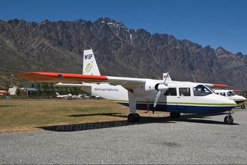 ZK-MSF - Milford Sound Sightseeing Britten-Norman BN-2 Islander