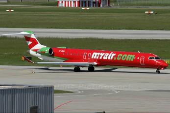 EI-DUU - Myair Canadair CL-600 CRJ-900