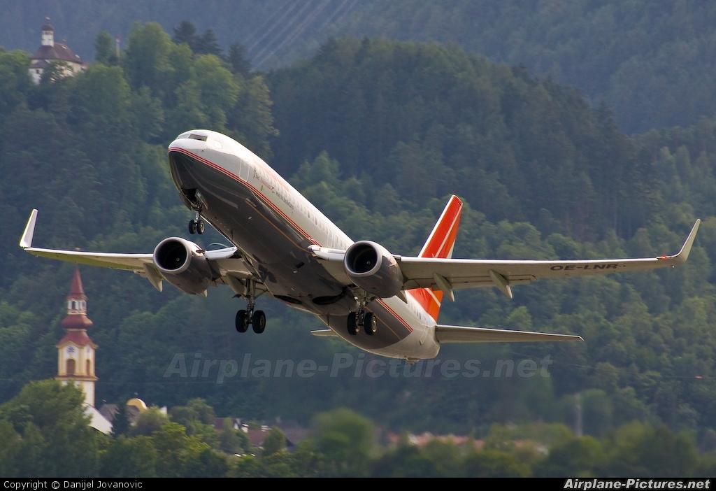 Lauda Air OE-LNR aircraft at Innsbruck