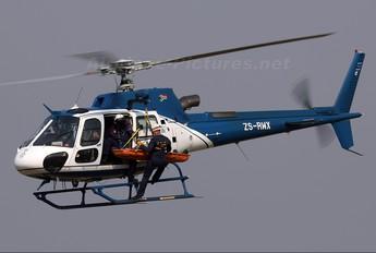 ZS-RWX - South Africa - Police Aerospatiale AS350 Ecureuil / Squirrel