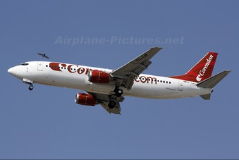 TC-TJF - Corendon Airlines Boeing 737-400