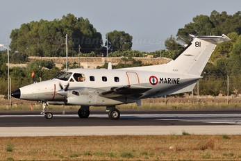 81 - France - Navy Embraer EMB-121AN Xingu