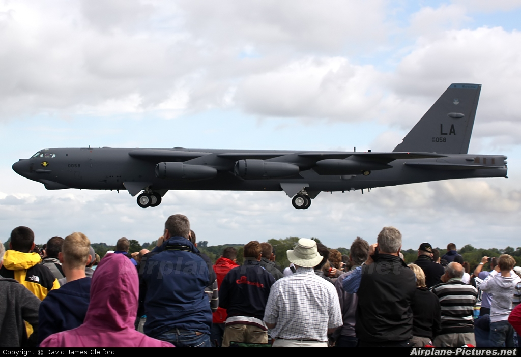 USA - Air Force 60-0058 aircraft at Fairford