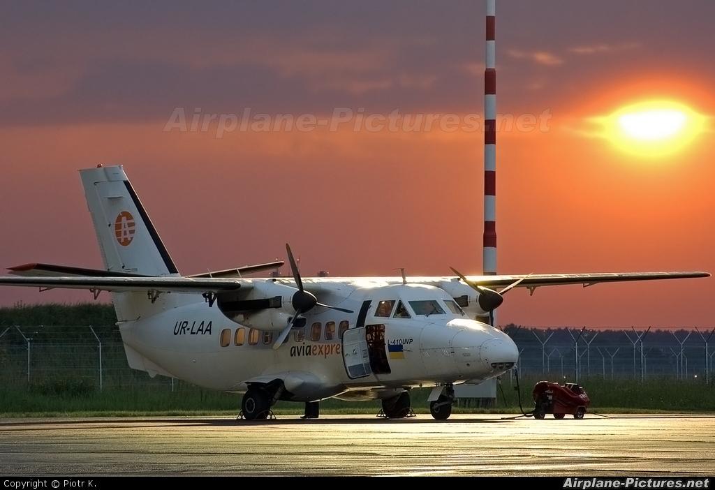 Aviaexpress UR-LAA aircraft at Bydgoszcz - Szwederowo