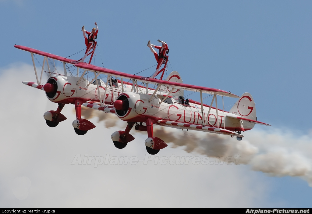 Guinot Wingwalkers N707TJ aircraft at East Fortune