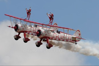 N707TJ - Guinot Wingwalkers Boeing Stearman, Kaydet (all models)