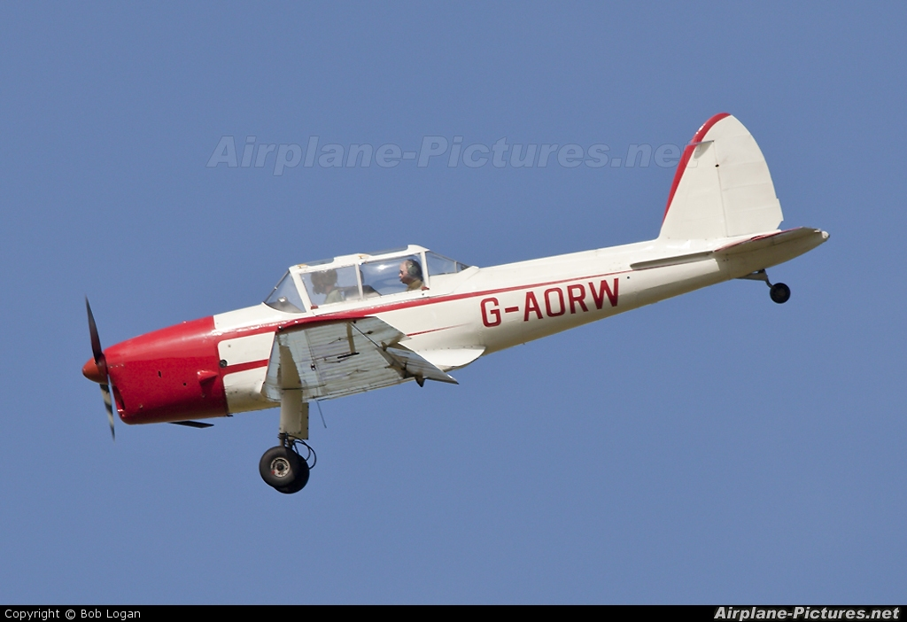 Skylark Aviation G-AORW aircraft at Prestwick
