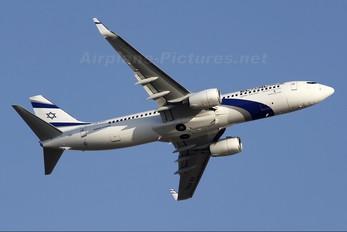 4X-EKL - El Al Israel Airlines Boeing 737-800