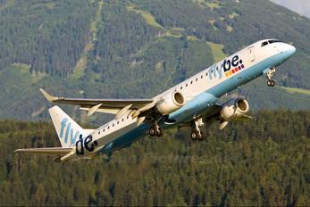 G-FBED - Flybe Embraer ERJ-195 (190-200)