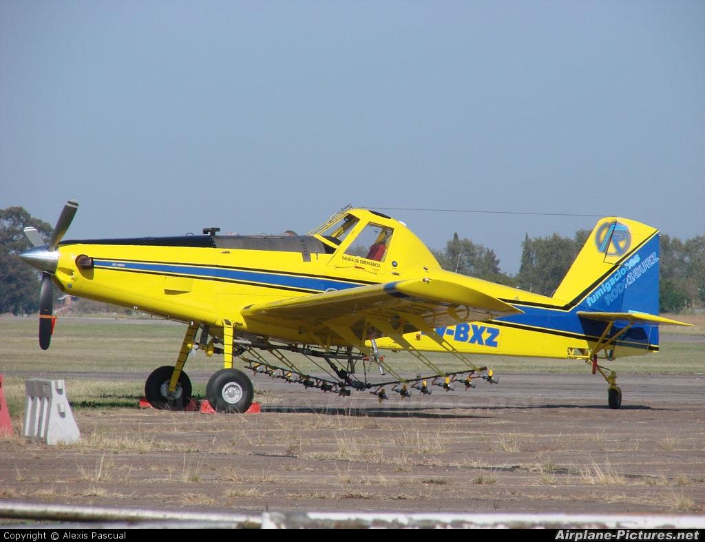 Fumigaciones Rodriguez LV-BXZ aircraft at Morón
