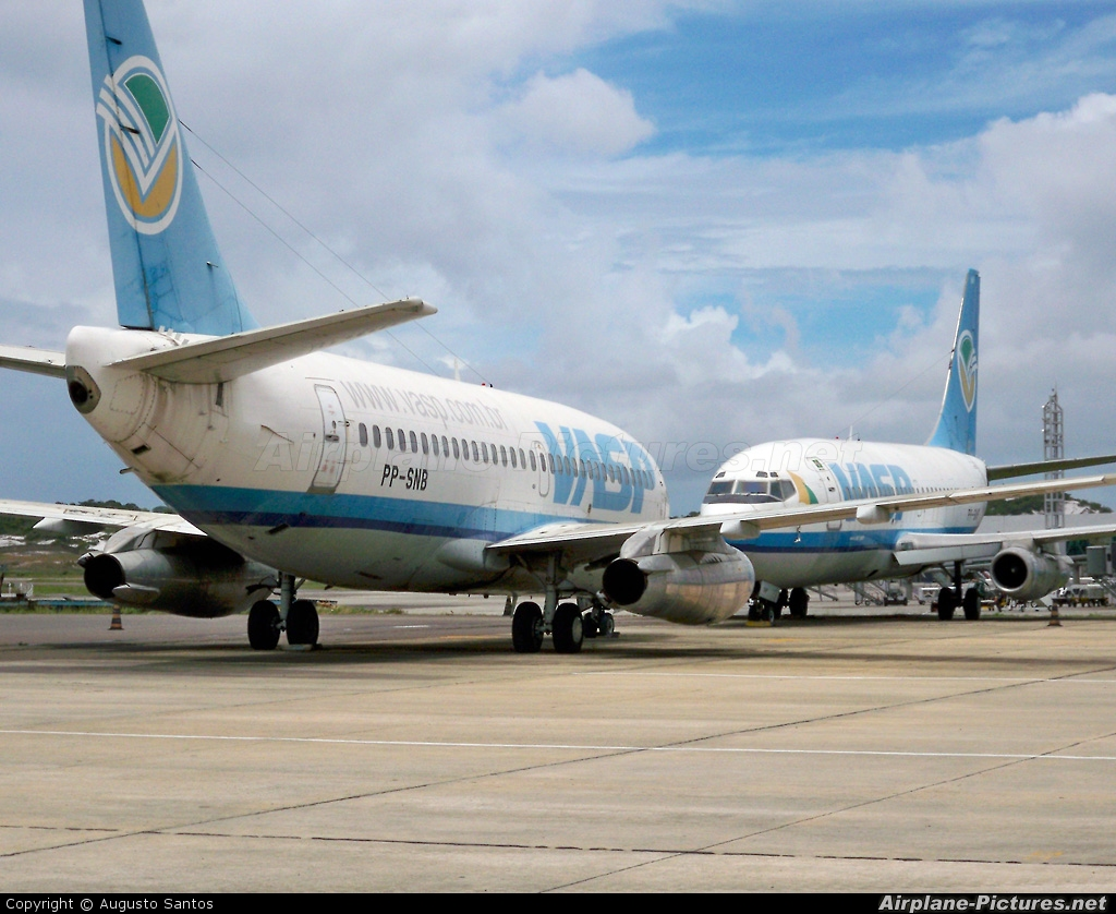 VASP PP-SNB aircraft at Salvador - Deputado Luis Eduardo Magalhaes