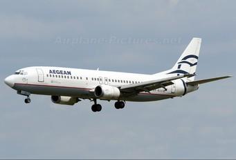 SX-BGV - Aegean Airlines Boeing 737-400