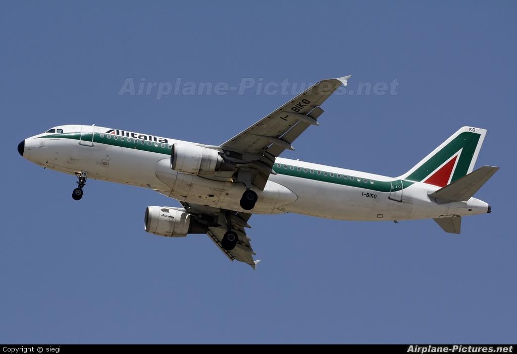 Alitalia I-BIKO aircraft at Tel Aviv - Ben Gurion