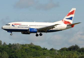 G-GFFH - British Airways Boeing 737-500
