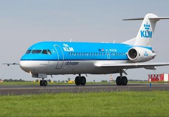 PH-KZW - KLM Cityhopper Fokker 70
