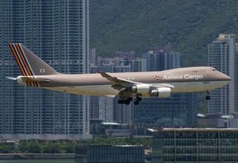 HL7604 - Asiana Cargo Boeing 747-400F, ERF