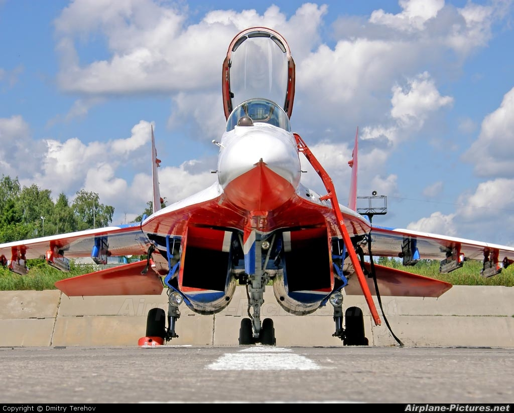 "Russia - Air Force ""Strizhi"" 06 aircraft at Kubinka"