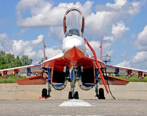"""06 - Russia - Air Force """"Strizhi"""" Mikoyan-Gurevich MiG-29"""