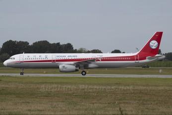D-AZAQ - Sichuan Airlines  Airbus A321