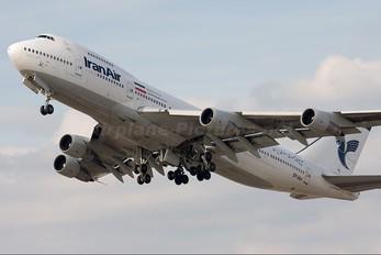 EP-IAH - Iran Air Boeing 747-200