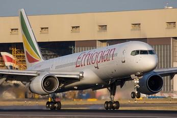 ET-AMT - Ethiopian Airlines Boeing 757-200