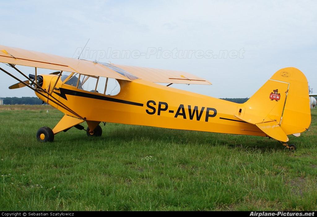 Private SP-AWP aircraft at Warsaw - Babice