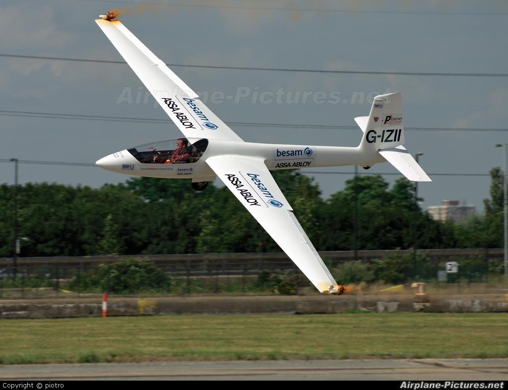 Swift Aerobatic Display Team G-IZII aircraft at London - City