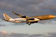 A9C-LG - Gulf Air Airbus A340-300 aircraft