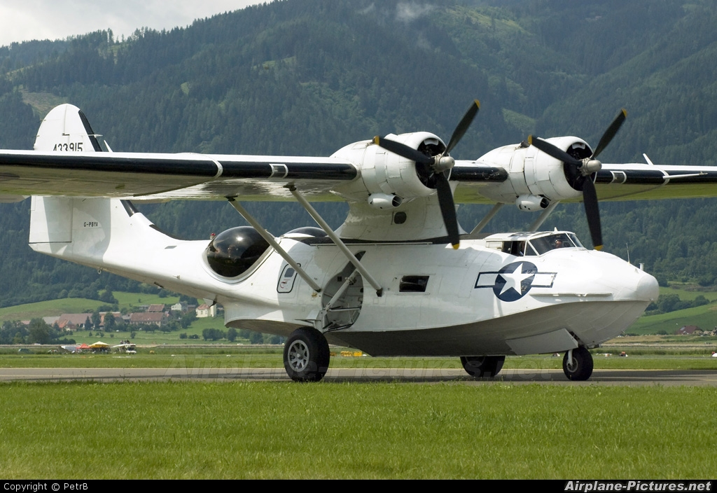 Catalina Aircraft G-PBYA aircraft at Zeltweg